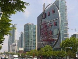 Skyscrapers across from COEX mall, Kangnam