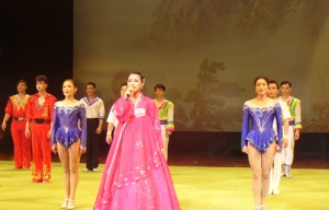 The Pyongyang Maraebang circus gives a final bow