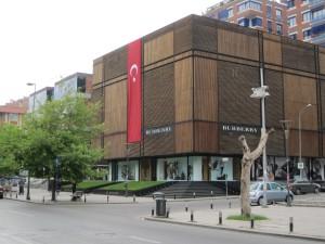 Burberry on Baghdad Avenue