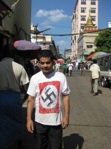 "Fan of Nazi ""fashion"""