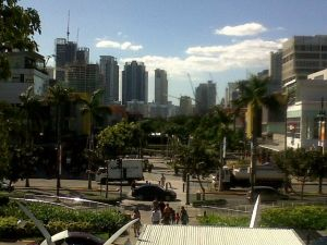 View of High Street, Fort Bonifacio, Manila