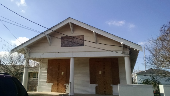 In 2005, Hurricane Katrina hit New Orleans, sending much of the city back into the swamp. Ten years on, a lot of that damage is still visible in the outskirt of New Orleans proper.  National flood insurance is now mandatory for all residents to buy into, making it too expensive to rebuild these damaged homes.