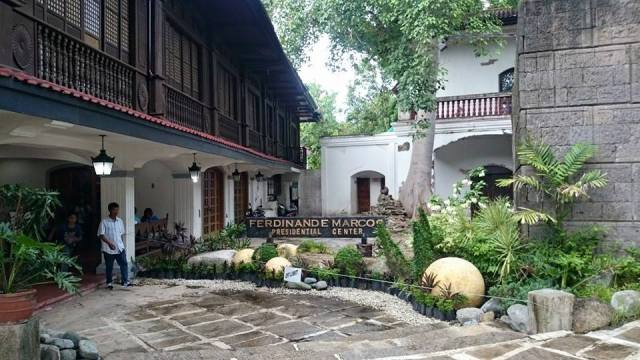 Neverland: the entrance to the Marcos Museum and Mausoleum. Photo: Justin Calderon